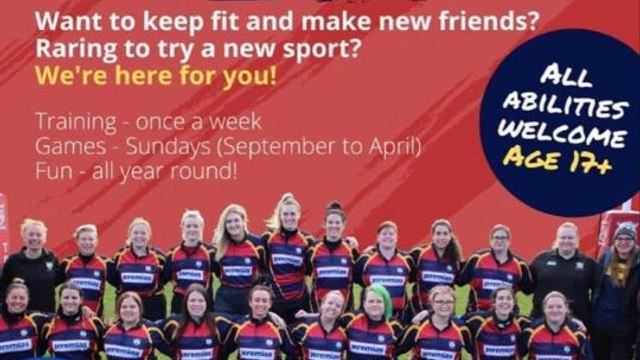 Ladies Rugby - Get post COVID Fit, make new friends and have a laugh