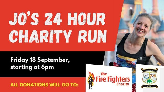 Jo's 24 hour Charity Run
