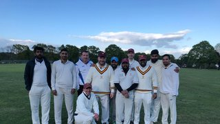 Salfords 1st XI starts the season with a Win