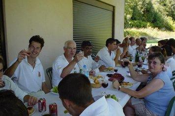 Entrecasteaux CC.  WHCC France Tour September 2003