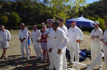 Cabris Cricket Club, France Tour September 2003