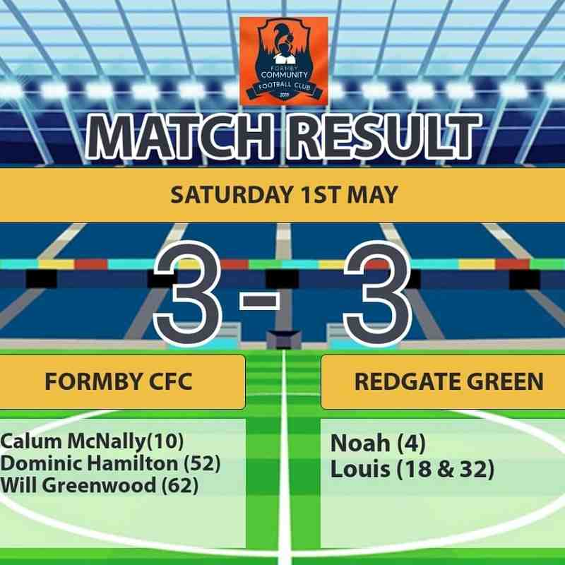 Redgate Greens - 1st May