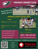 Holiday Cricket Camps 2021 - Easter & Half-Term Dates