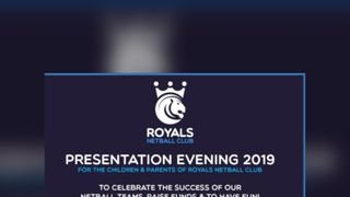 Royals Presentation Evening
