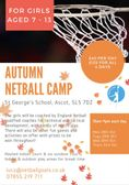 Half Term Netball Camp