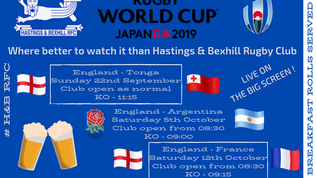 Rugby World Cup Japan 日本 2019