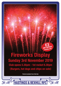 Hastings & Bexhill Rugby Club Fireworks Display