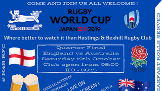 Rugby World Cup Quarter Final
