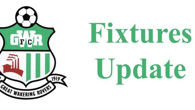 Rovers Fixtures