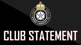 CLUB STATEMENT: Dean Barker