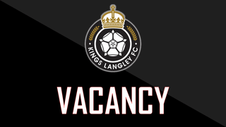 VACANCY - First Team Physio