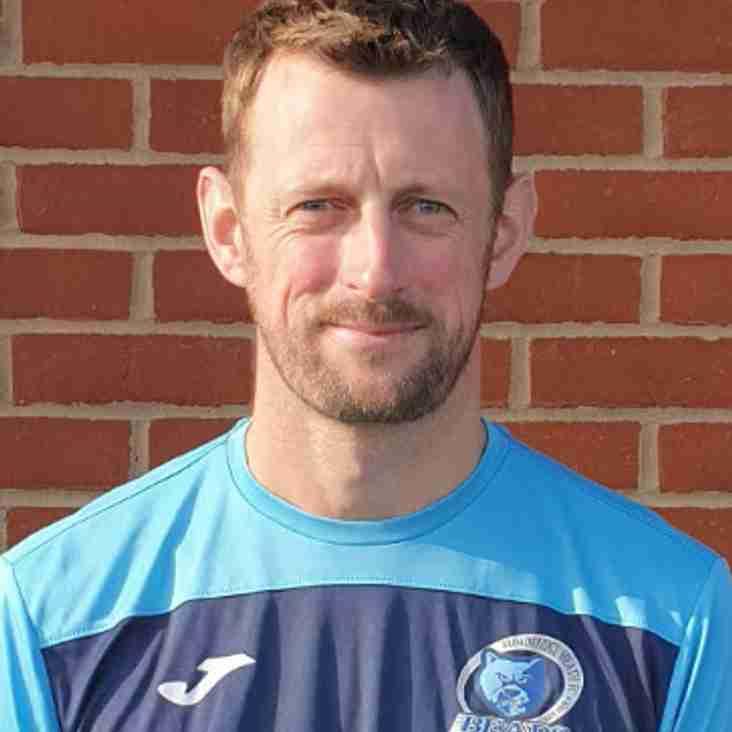 New Goalkeeper Coach