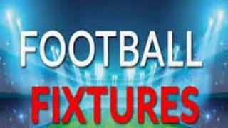 First Team Fixtures released