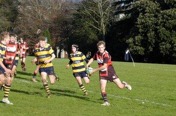Lydney U 16'sv Newport High School Old Boys