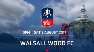 FA CUP FIRST UP FOR WOOD