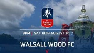 WOOD IN FA CUP ACTION THIS SATURDAY