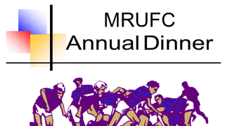 Mansfield Rugby Club Annual Dinner - 10th May, 2019