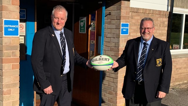 New Chairman takes the Helm!