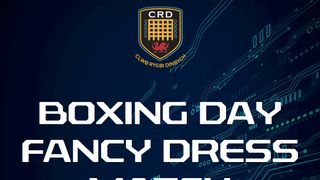 BOXING DAY FANCY DRESS MATCH