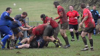 Dragons battle to victory at Rhos