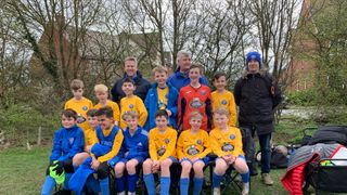 U12 Whites complete brilliant league season with win at St Ives