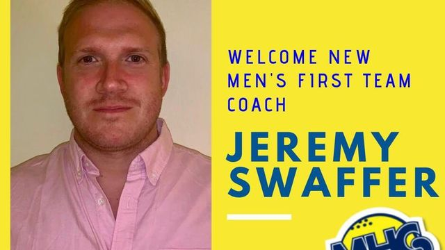 New Men's 1st Team Coach