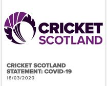 Cricket Scotland COVID-19 Update
