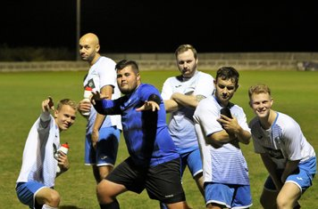 The Boy Band. Left to Right, George Marsh, Kai Francis, Liam Vaughan, Harrison Shade, Chris Robson, Sam Knight