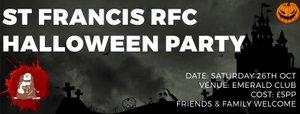 CLUB SOCIAL: St Francis Halloween Party