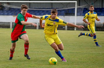 Marshall Wratten on the ball