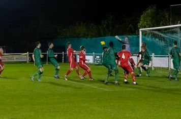 Early pressure on the home goal