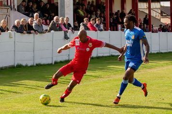 John Ufuah on the attack