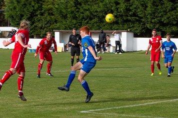 Leo Mazzone heads the ball towards goal
