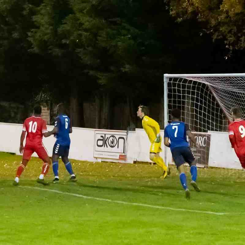 Whitstable still trying but not looking like scoring