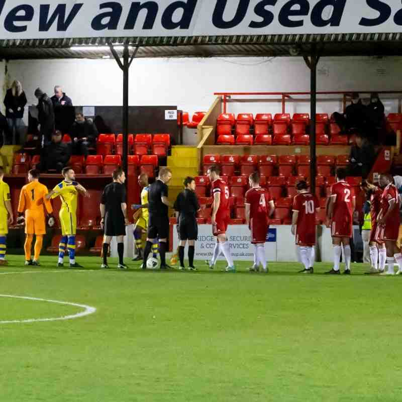 Welling United 1 Whitstable Town 2 (7/1/20)