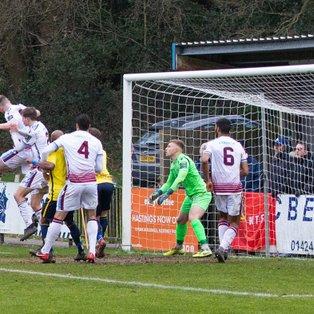 Two Penalties Send Hastings Top