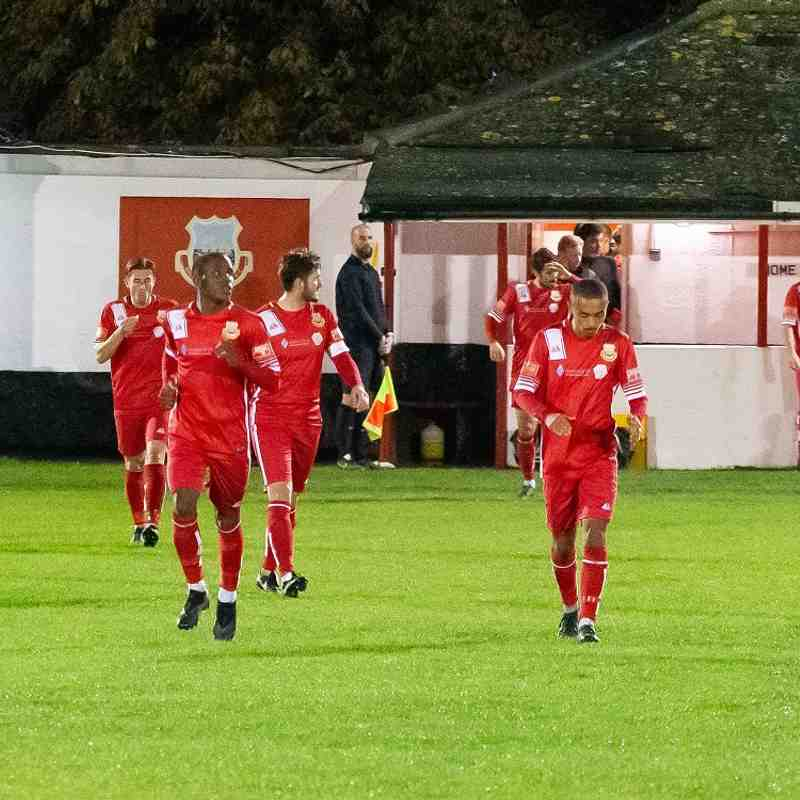 Whitstable Town 0 Hythe Town 6 (13/10/20)