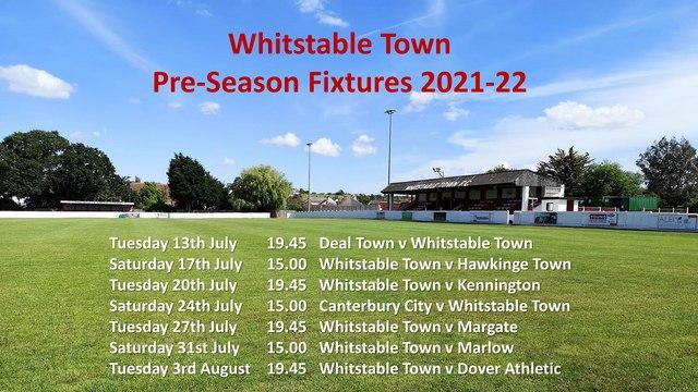 Pre-Season Fixtures 2021-22 Update