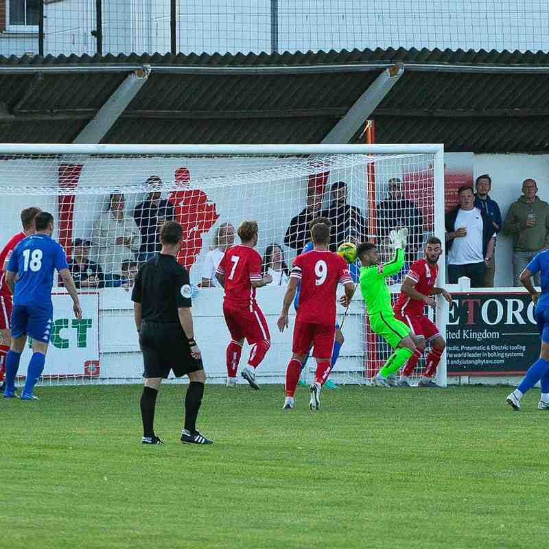 Danny Collinge scores the first