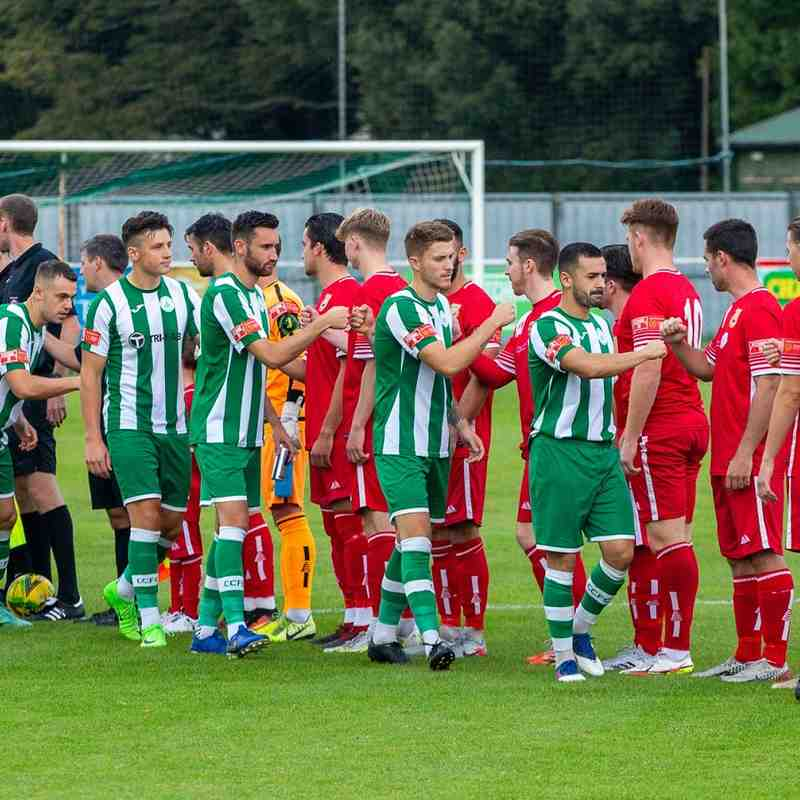 Chichester City 4 Whitstable Town 0 (25/9/21)