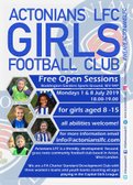 Girls FREE Open Sessions