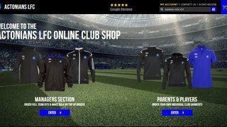 Actonians LFC Online Club Shop