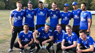AND THE NEW HERTS LEAGUE CHAMPIONS....POTTERS BAR CC