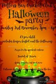 POTTERS BAR CC HALLOWEEN PARTY