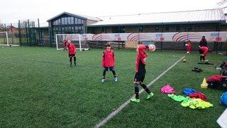 U9 Training 21 Feb 2015