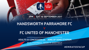 Ambers Confirm FA Cup Clash Details...
