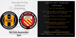 FA Cup Match Sponsorship Package Available