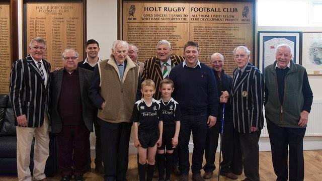 Holt RFC Sport England Award