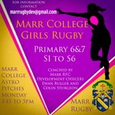 Marr College Girls Rugby
