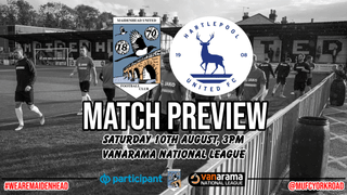 MATCH PREVIEW | Hartlepool United (h)